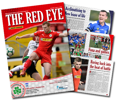 Cliftonville Football Club » New horizons
