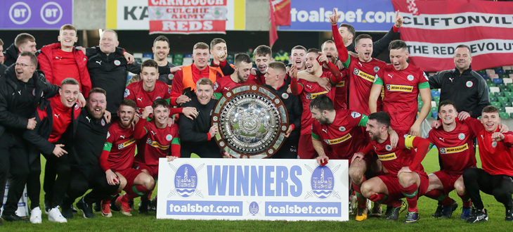 Cliftonville Football Club » Late launch